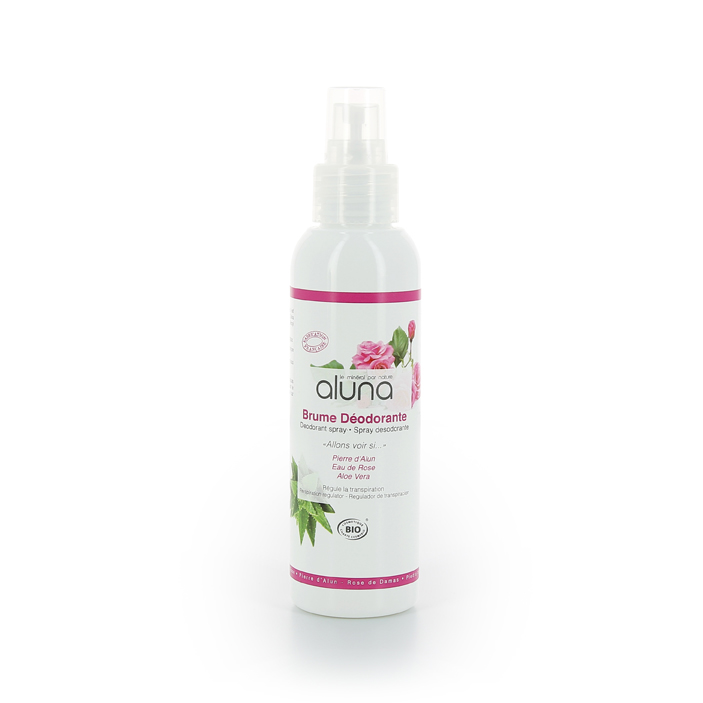 Spray déodorant Aluna - Rose 100ml
