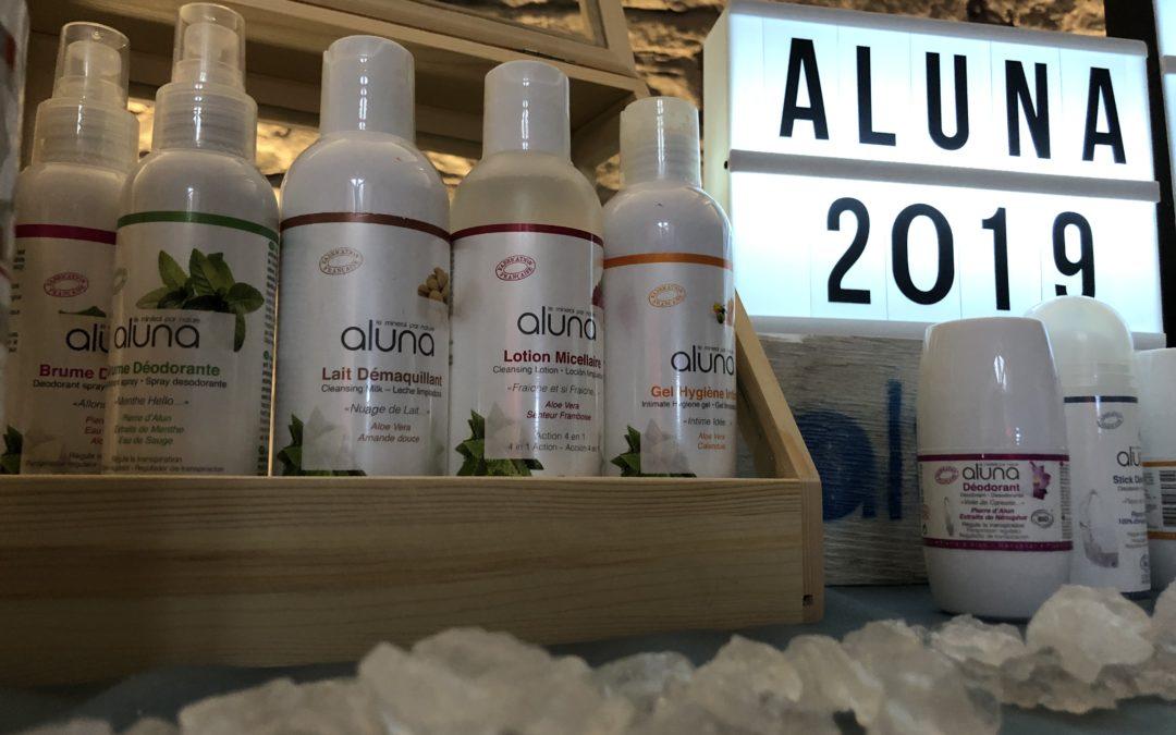 Test produits ALUNA –  Le monde de Nyna parle de nous : Déodorant Biologique et Lotion Micellaire
